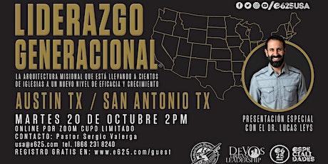 Seminario Liderazgo Generacional  ONLINE  Dr. Lucas Leys (Austin TX SA TX) entradas