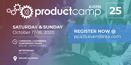 ProductCamp Austin 25 (PCA25) tickets