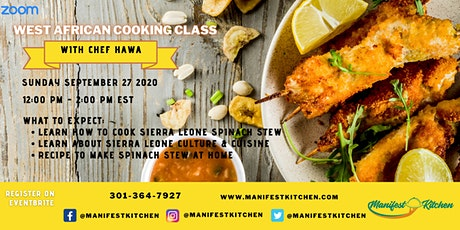 Virtual West African Cooking Class tickets