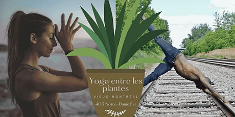 Yoga entre les plantes tickets
