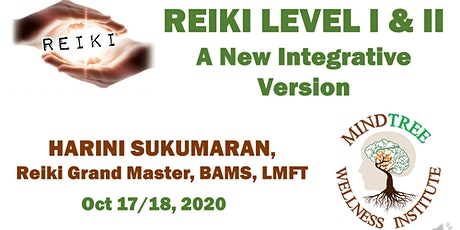 Certified Integrative Reiki 1 & 2 Practitioner Online Training tickets