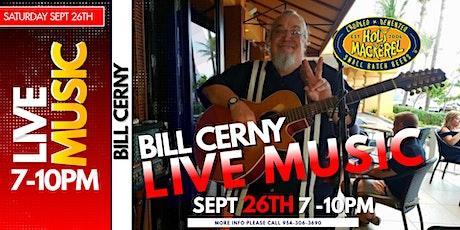 Live Music Saturday night with Bill Cerny tickets