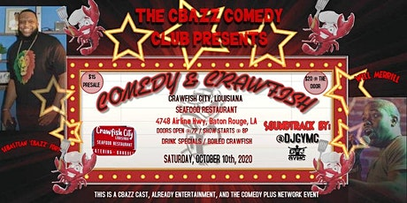 Comedy & Crawfish - The C-Bazz Comedy Club tickets