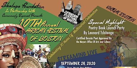 10th  Annual African Festival of Boston - Virtual Edition tickets