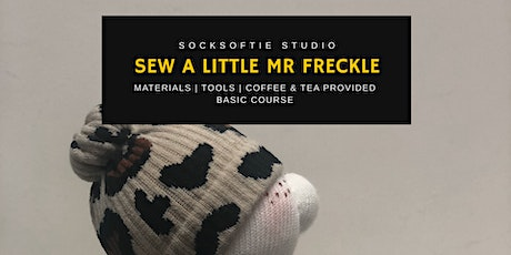 Parent-Child Sockcrafting - Mr  Freckle  (Beginner Plus) tickets
