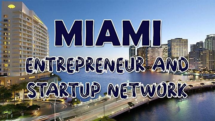 Miami Business, Tech & Entrepreneur Professional Networking Soriee image
