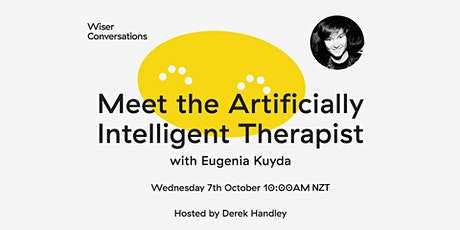 Meet the Artificially Intelligent Therapist with Eugenia Kuyda tickets