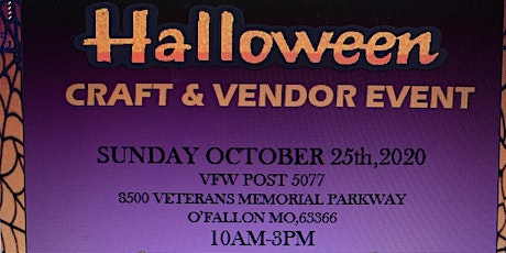Halloween Vendor and Craft Event tickets
