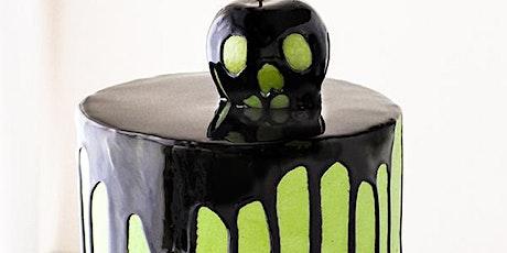 Sip & Decorate; Halloween Drip Cake tickets