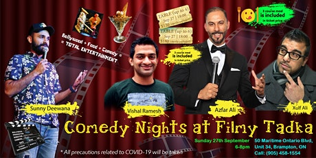 Comedy Nights at Filmy Tadka tickets