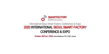 SEOUL Smart Factory 2020 tickets