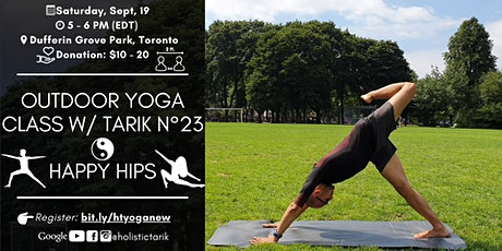 Yoga for the Hips - Outdoor Yoga Class in Toronto Park n°23 tickets