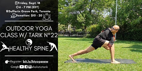Yoga for the Spine  - Outdoor Yoga Class in Toronto Park n°22 tickets
