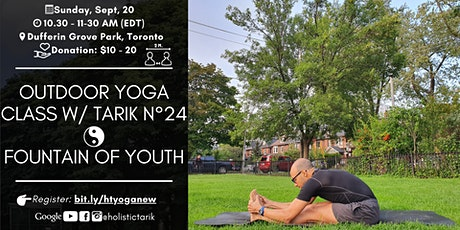 Morning Yin Yoga - Outdoor Yoga Class in Toronto Park n°24 tickets
