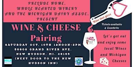Prelude Home Wine & Cheese Pairing Fundraiser tickets