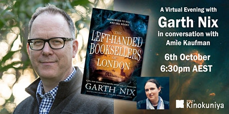 A Virtual Evening with Garth Nix tickets