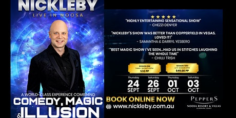 Nickleby Live in Noosa tickets