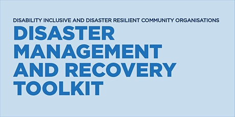 The Disaster Management and Recovery Toolkit tickets