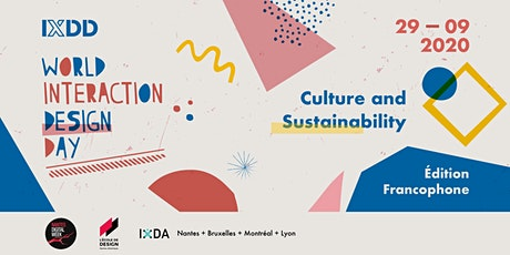 Interaction Design Day 2020 francophone tickets