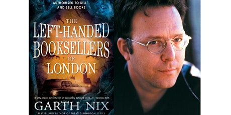 Garth Nix presents The Left- handed Booksellers of London tickets