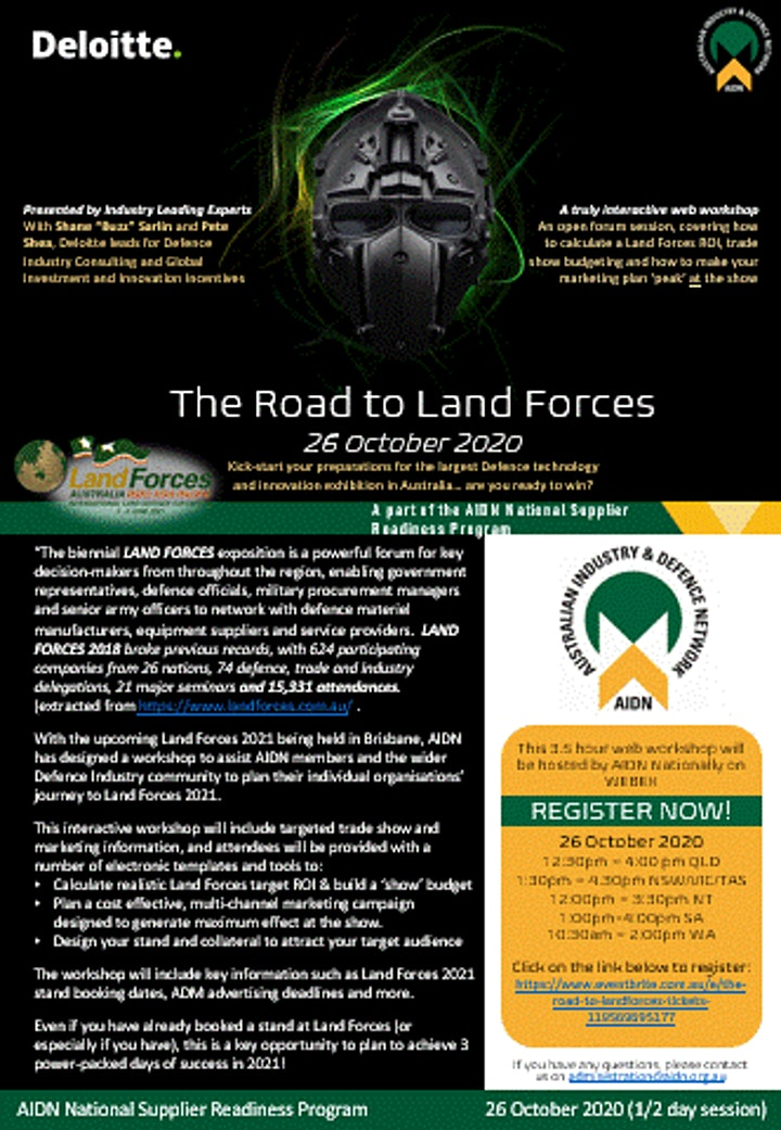 The Road To LandForces image