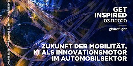 Get Inspired by Cloudflight - KI als Innovationsmotor im Automobilsektor Tickets
