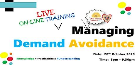 Managing Demand Avoidance - WEBINAR tickets