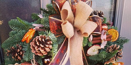 Christmas Wreath Workshop near Colchester, Essex tickets
