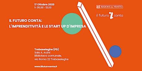 IL FUTURO CONTA: L'imprenditività e le start up d'impresa biglietti
