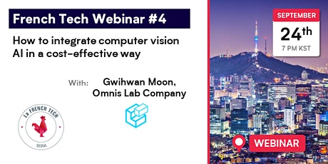 French Tech Webinar 4 // How to integrate computer vision AI effectively tickets