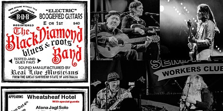Black Diamond Roots Band with Alana Jagt & Tin Can Alley  @ the Wheatsheaf tickets