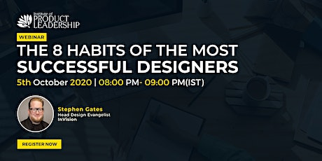The 8 habits of the most successful designers tickets