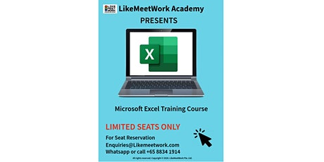 Introductory Microsoft Excel tickets