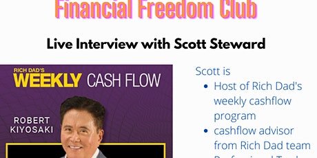 Financial Freedom-Rich dad's weekly cashflow investment strategy tickets