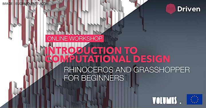 Online workshop: Introduction to Computational Design image