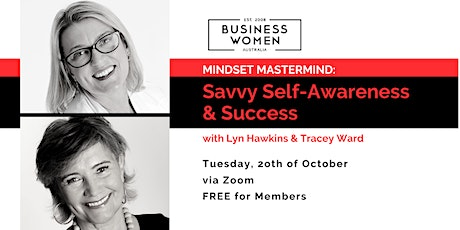 Online, Mindset Mastermind: Savvy Self Awareness & Success tickets