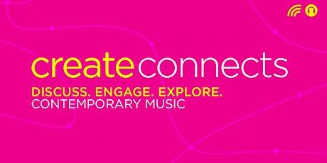Create Connects Arts & Culture Webinar - Contemporary Music Board tickets