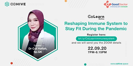 CoLearn Reshaping Immune System to Stay Fit During the Pandemic tickets