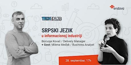 Srpski jezik u infomacionoj industriji tickets