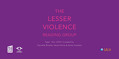 Lesser Violence Reading Group with Keval Harie | 22 September 2020 tickets