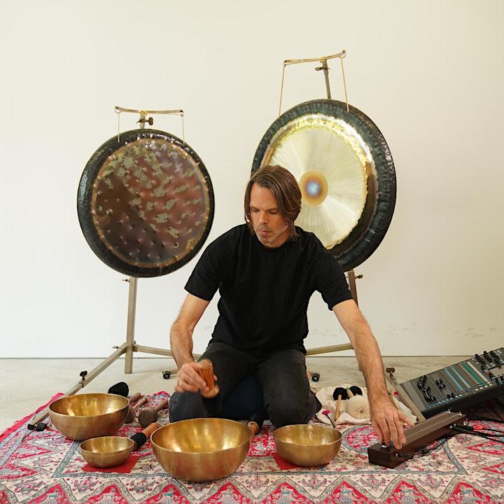 Holistic Sound - Sound Meditation with Artist Shane Aspegren image