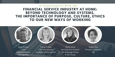 Financial Service Industry at home – beyond technology and systems tickets