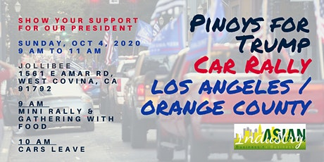Filipinos For Trump Car Rally tickets