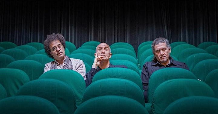 """Immagine Trio Servillo Girotto Mangalavite  in """"PARIENTES"""""""