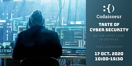 Taste of  Cyber Security at Codaisseur tickets
