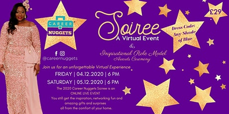 Career Nuggets Soiree - A virtual event tickets