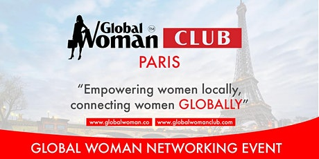 GLOBAL WOMAN CLUB PARIS: BUSINESS NETWORKING MEETING - SEPTEMBER tickets