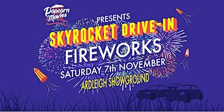 Skyrocket Drive-in Fireworks Display SATURDAY tickets