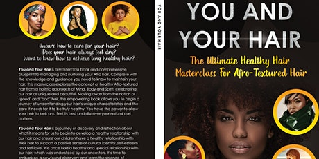 Developing a Healthy Hair Care Regimen, to grow long and healthy Afro hair tickets