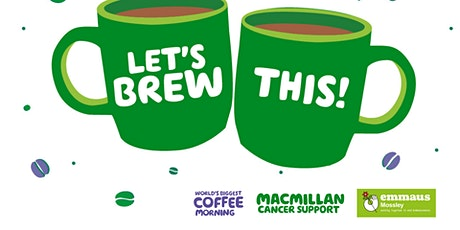 Macmillan Coffee Morning at Emmaus Mossley tickets